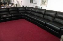 HTL Power Reclining Leather Sectional Sale Price: $1499.00 + delivery