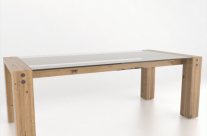 Canadel Glass Top Dining Table Sale price: $999.00 + delivery